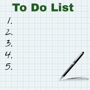 An empty to-do list
