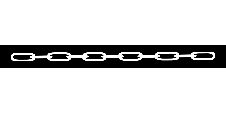 A linked chain