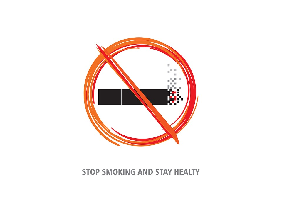 A classic stop smoking sign