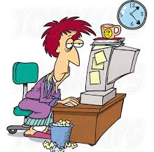 A worker who hasn't slept working