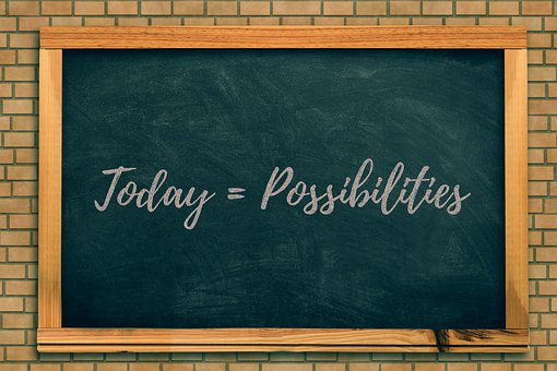 Today = Possibilities