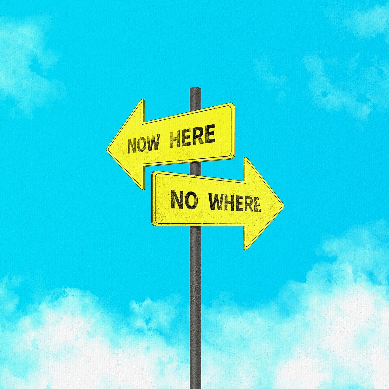 Now here nowhere